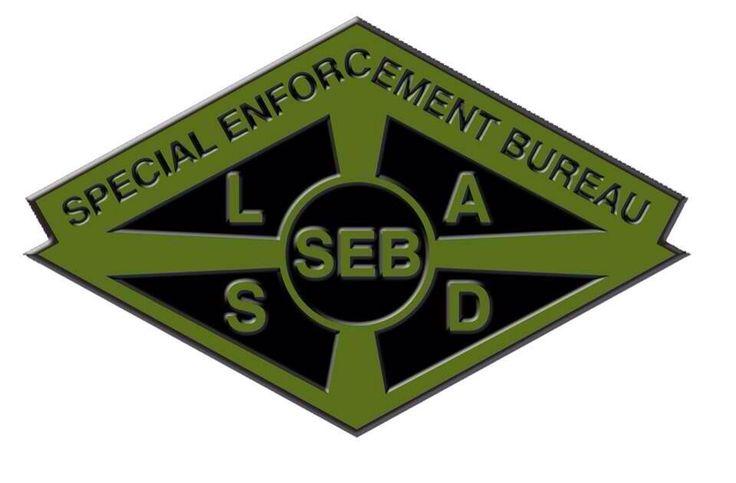 Lasd Seb Special Enforcement Bureau Pinterest