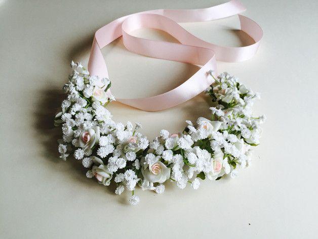 wianek na głowę ślub komunia wesele - handmadebykicia - Akcesoria do włosów