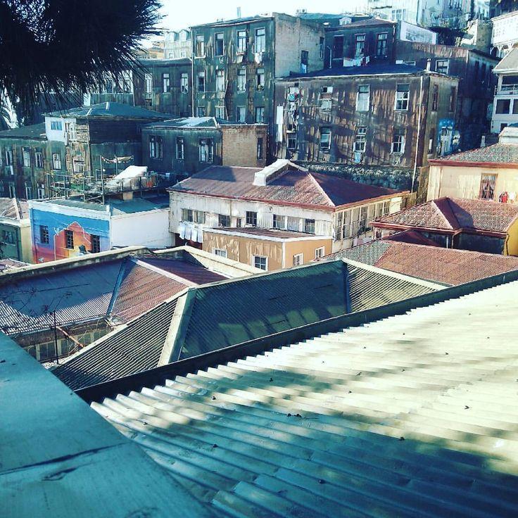 #unasplendidagiornata en #valparaíso #vistadalhotel (en Hotel Da Vinci Valparaíso)