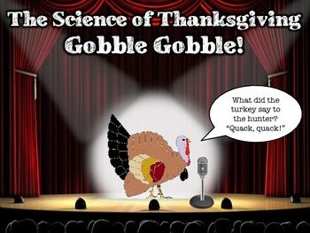 "Included in this package are science activities and printables to excite your students for Thanksgiving! Students will learn/engage in the following activities:  -Anatomy of a Turkey (NO PREP!) -Selective Breeding to Create a ""Super Turkey"" (NO PREP!) -Wildlife Conservation of the Wild Turkey Population (NO PREP!) -Parade Balloons: What Makes Them Float? -Colored Corn Kernels: Popcorn Prediction Experiment  Happy Turkey Day!"