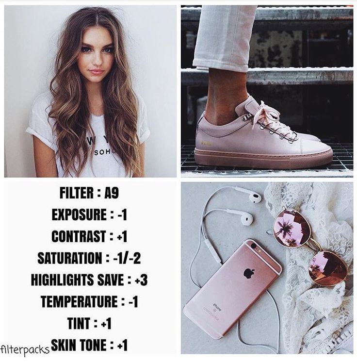 VSCO Cam Filter Settings for Instagram Photos | Filter A9