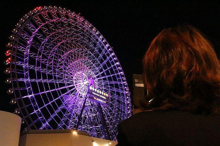 大阪に「世界初」免震構造採用の日本一高い観覧車誕生