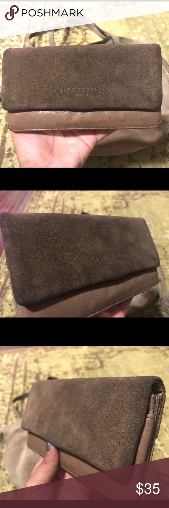 """Liebeskind Wallet Liebeskind (""""lovechild"""" in German) wallet is in a great condition! Needs a cleaning possibly but there are no tears, scratches, or holes in the leather. MK purse is for sale in a different listing. Liebeskind Bags Wallets"""