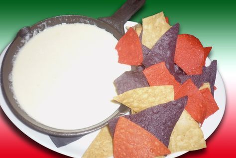 For years I have tried recreating the White Cheese dip that you find at Mexican restaurants (only in the South Apparently!!). I have researched and tried various cheeses, read many recipes and still…. never anything like the dip in the restaurants…. Until tonight!!The main ingredients are vary simple. They are: 1) 4 parts cheese (Oaxaca …