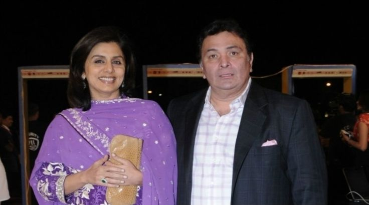 Neetu and Rishi Kapoor