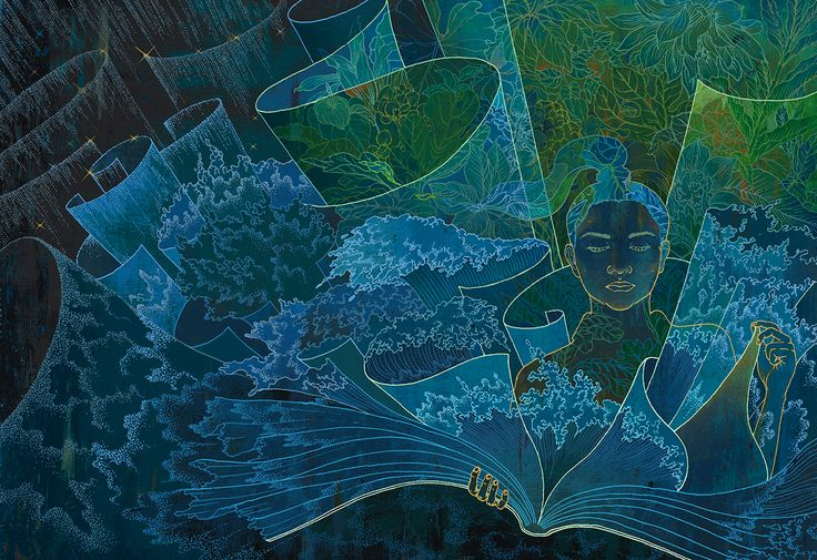 The Reader | Yohey Horishita Illustration