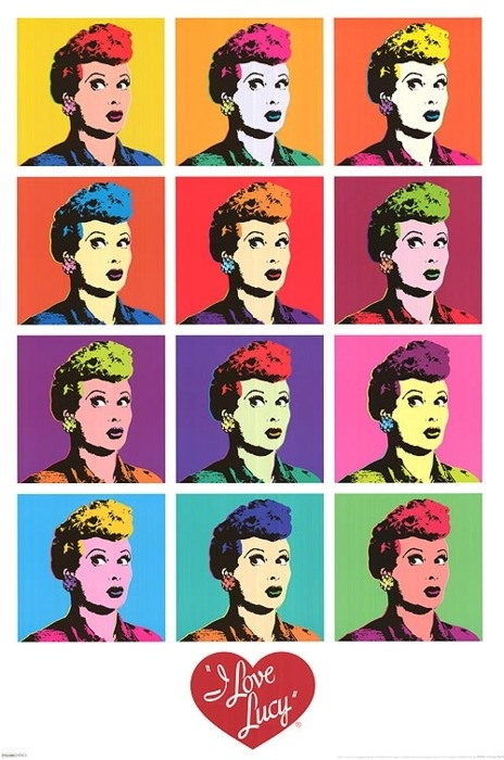 : Lucil Ball, Picture-Black Posters, Posters Prints, Lucy Posters, Art Prints, Pop Art Posters, Lucy Pop, I Love Lucy, Popart