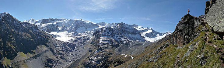 Fuldaer Höhenweg, vom Rifflsee zum Taschachhaus