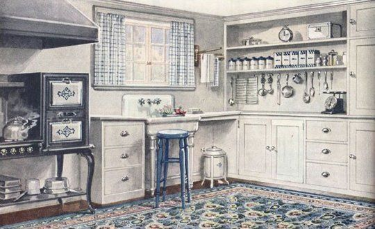 1920's kitchen.  Kitchens That'll Never Go Out of Style: 7 Ingredients for a Timeless Look   Apartment Therapy
