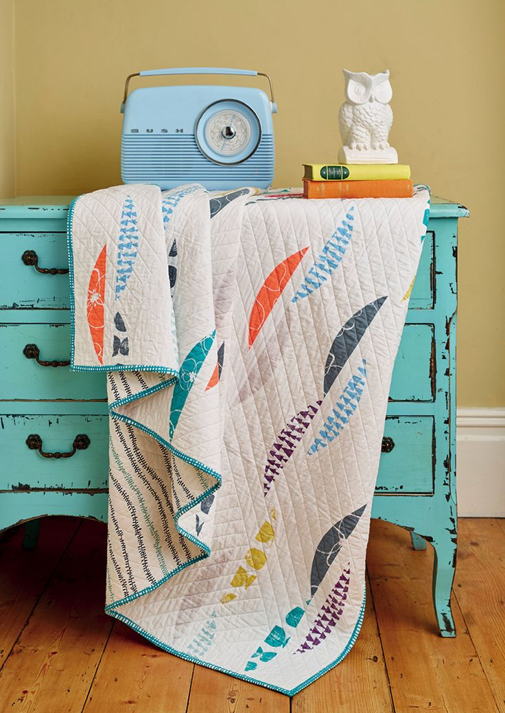 Wiggle Room quilt by Moira De Carvalho for Love Patchwork & Quilting issue 28