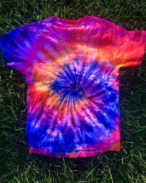 Sunset Sherbet Tie Dye by SunAndMoonTieDyes on Etsy