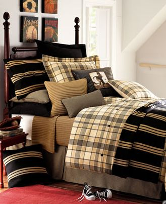 Bed Shams For Mens Boys Room