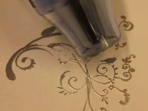 Sinelli: Kohokuviointi eli embossaus - YouTube