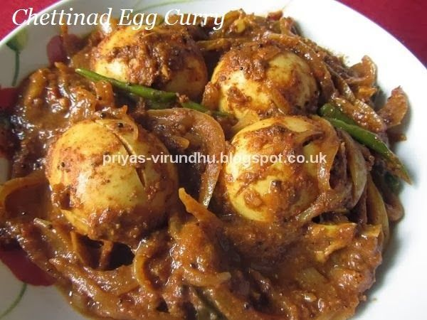 Best 21 mutton sea food recipesindian ideas on pinterest sea today in priyas virundhu it is a very authentic traditional and easy recipe of south india it is the chettinad egg curry this egg curry forumfinder Choice Image