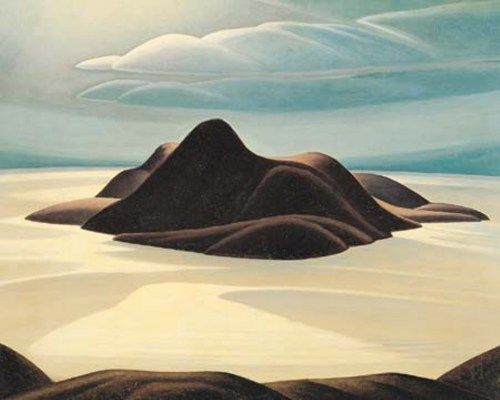 Pic Island, Lake Superior - Lawren Harris (Group of Seven)