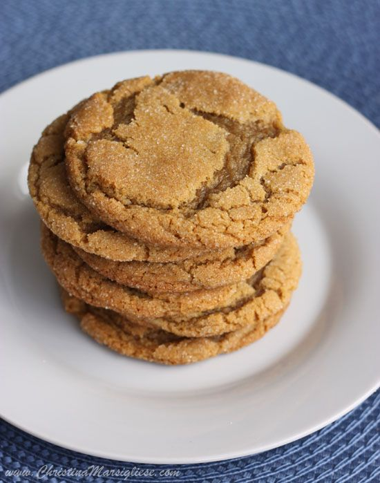 Ginger brown sugar molasses cookies (dough needs to chill ...