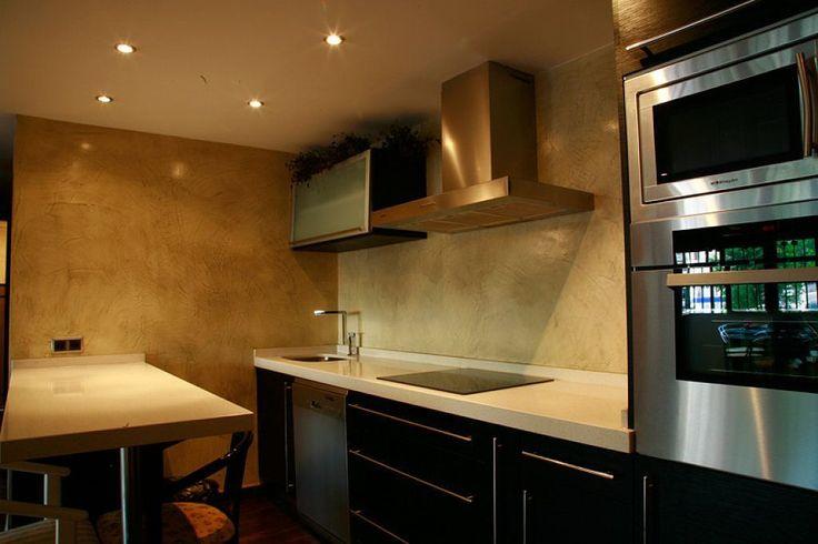 cocinas en cemento pulido #cocinasrusticascemento