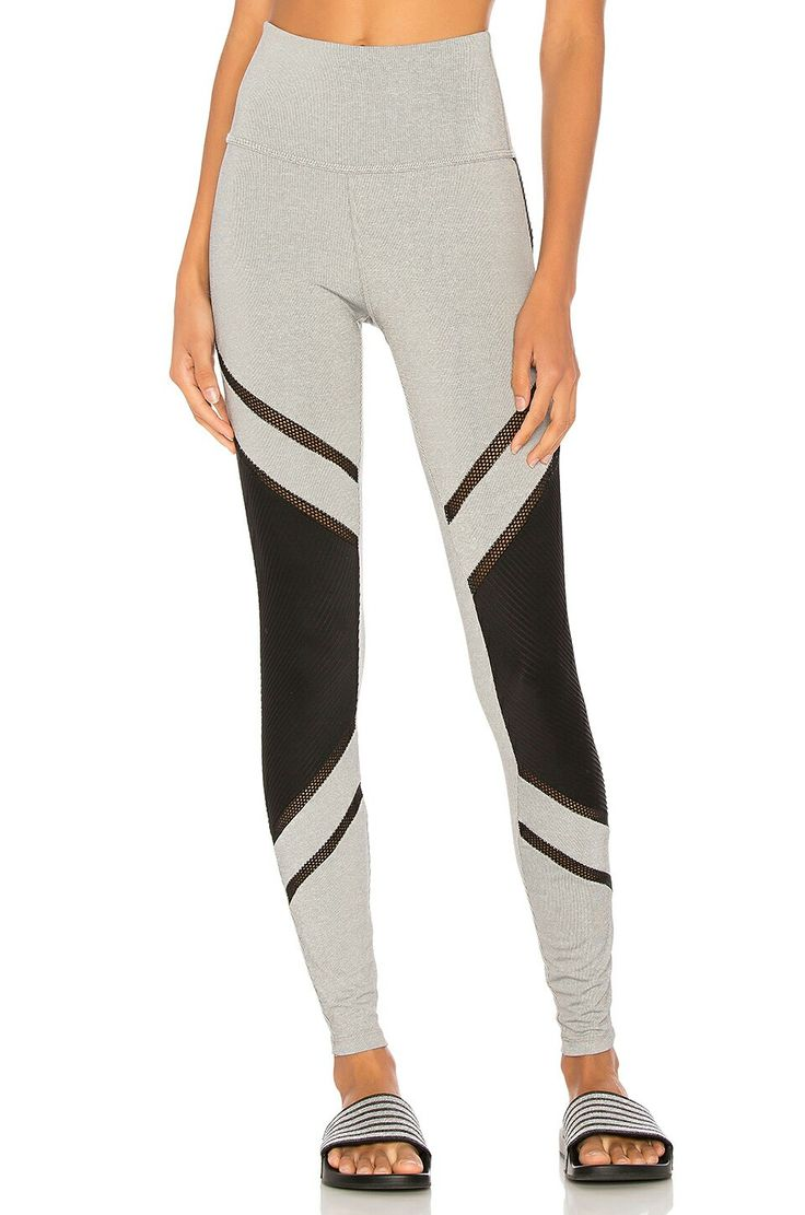 Beyond Yoga Limited Edition Full Disclosure High Waisted Grey Leggings #yoga #slimming #activewear