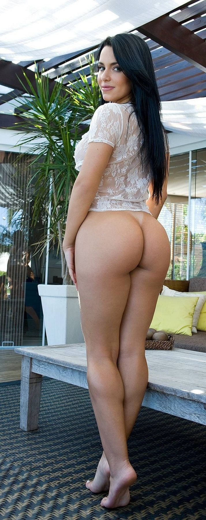Pantyhose ladies with big butts naked taking their bikini