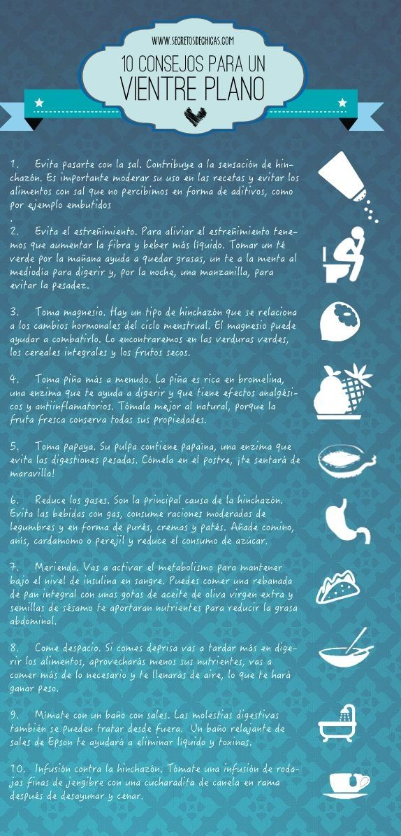 4 bebidas para desinflamar tu vientre y bajar de peso