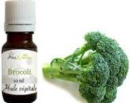lisser ses cheveux avec de l'huile de brocoli
