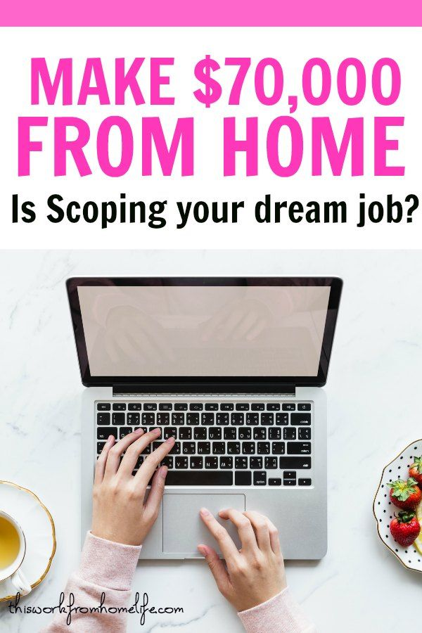 What Is Scoping The Awesome New Work From Home Opportunity