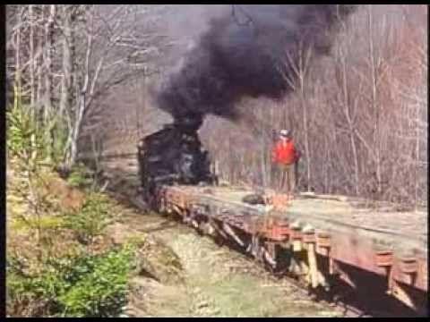 Cass & Mower Logging Trains - Heislers - Shay Steam Trains - YouTube