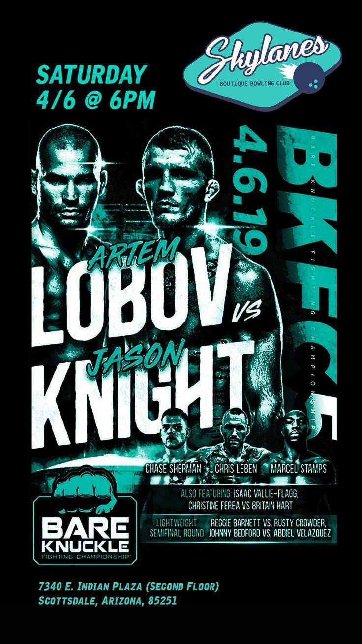 ARTEM LOBOV VS JASON KNIGHT ON SATURDAY 6TH ALSO