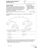 Calder Mobiles http://www.teachervision.fen.com/algebra/printable/7284.html #art #math #algebra