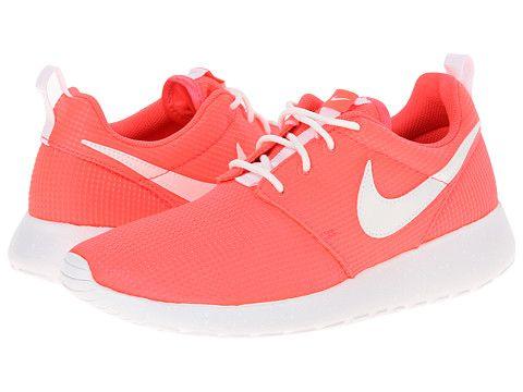 Nike Kids Roshe Run Glow (Little Kid/Big Kid) Hyper Punch/White - Zappos.com Free Shipping BOTH Ways