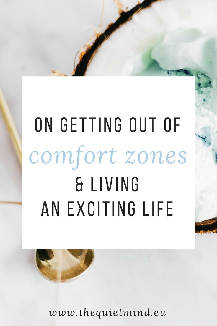 Through our life we create comfort zones which protect us. But sometimes we need to step out of this comfort zone to experience something new and exciting. I share three ways how I got out of my comfort zone.