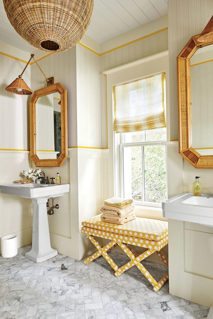 Yellow Bathroom Best 20 Cottage Style Yellow Bathrooms Ideas On Pinterest