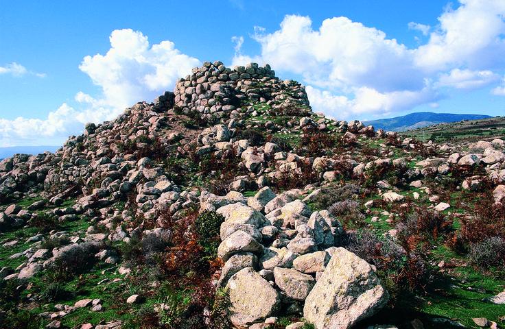 The big nuraghe Bau 'e Tanca, Talana #Ogliastra #Sardinia #italy
