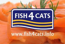 The NEW Fish4Cats Range.   A range of Complete Foods and Finest Mousse in exciting new flavours.   The Finest Fish4Cats Complete Food range contain high fish levels – 65% fish content – including 22% Fresh fish  With added algae – a rich and sustainable source of Omega 3  With added Cranberries and ideally balanced amino acid and mineral profile of fish to aid with urinary tract infection.  Available in Salmon, Mackerel and Sardine varieties – 400g and 1.5kg
