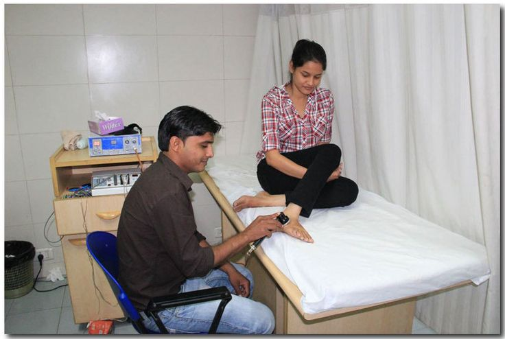 We  are offering the electro therapy method for treatment of distal joint. In this therapy patient will bring relief at once.