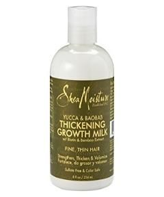 Buy SHEA MOISTURE YUCCA & BAOBAB THICKENING GROWTH MILK 8 FL OZ from Vogue Cosmetics Store at ₦6000.00 on Bargain Master Nigeria