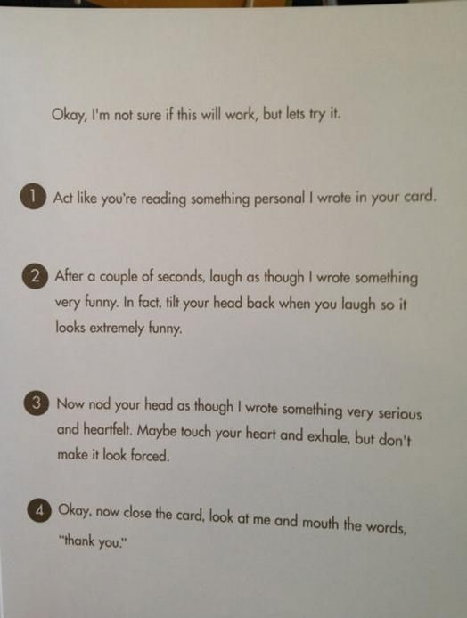 Funny Birthday Card - NEED to make this!