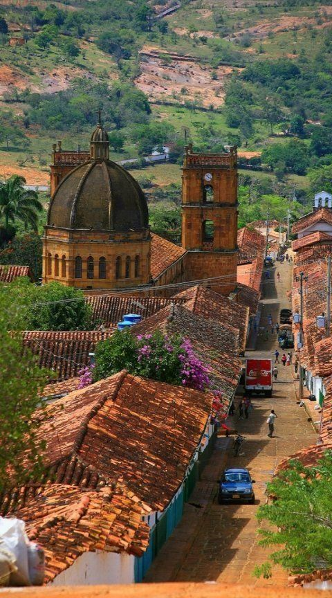 A place where time seems to have stopped. Barichara, COLOMBIA