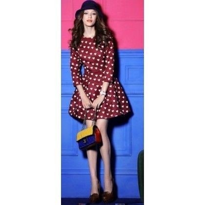 Rochie Hart RED un must have
