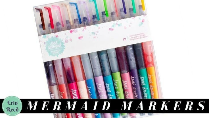 Mermaid Watercolor Markers @ Pinners Conference