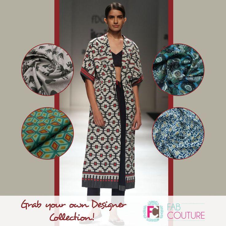 Grab your own designer collections with #FabCouture. Grab your fabric at: https://fabcouture.in/ . #FabCouture! #DesignerFabric at #AffordablePrices  #DesignerDresses #Fabric #Fashion #DesignerWear #ModernWomen #DesiLook #Embroidered #WeddingFashion #EthnicAttire #WesternLook #affordablefashion #GreatDesignsStartwithGreatFabrics #LightnBrightColors #StandApartfromtheCrowd #EmbroideredFabrics
