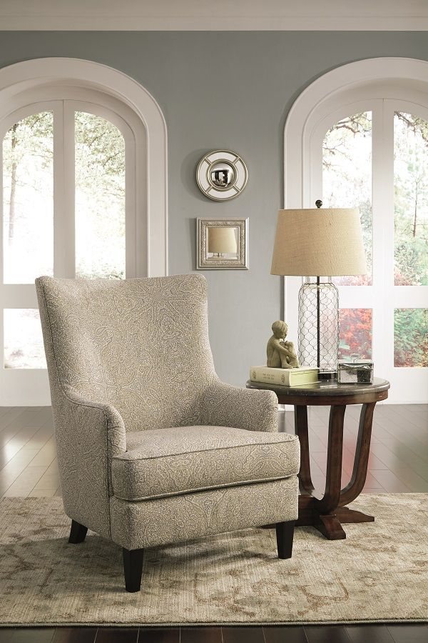 Defining Your Space With Accent Chairs Ashley Furniture Homestore Patterned Chair Living Room Furniture Accent Chairs