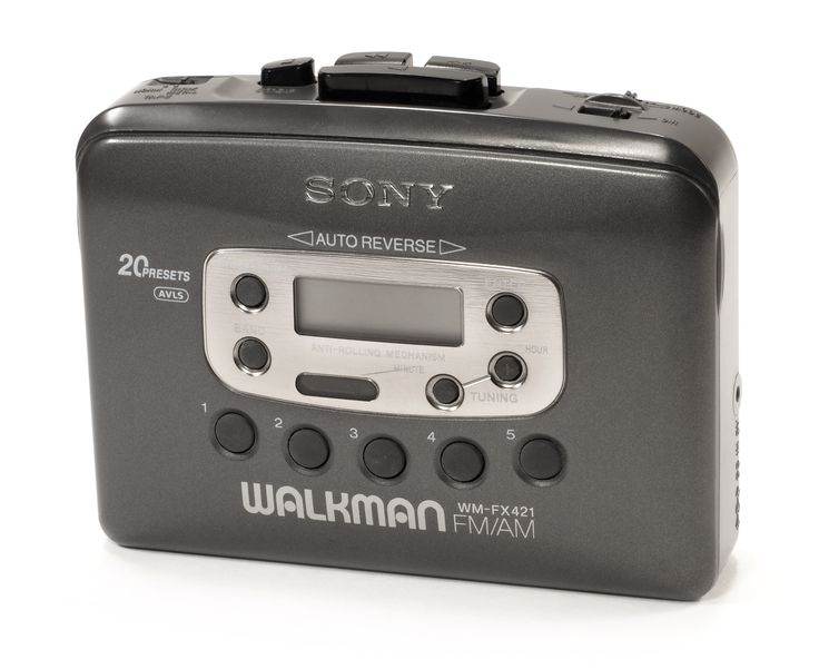 Sony Walkman  Wow, remember when this was high tech..  Lol