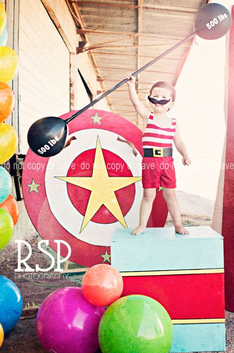 Circus strong man costume