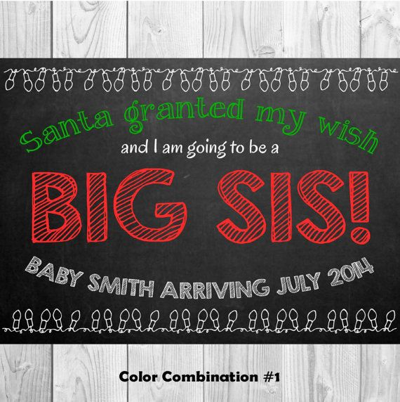 1000 images about Pregnancy Announcement – Christmas Baby Pregnancy Announcement