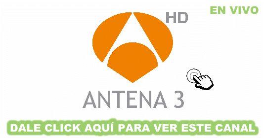 Aquí puedes ver el canal antena 3 en directo, online y gratis. Sin avisos de publicidad, en alta definición y sin interrupciones.