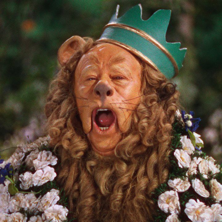 """If I Were King of the Forest"" The Wizard of Oz, 1939, Cowardly Lion, Bert Lahr"