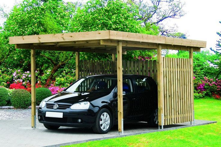 Primera Single Carport Golf Cart Enclosed Carport