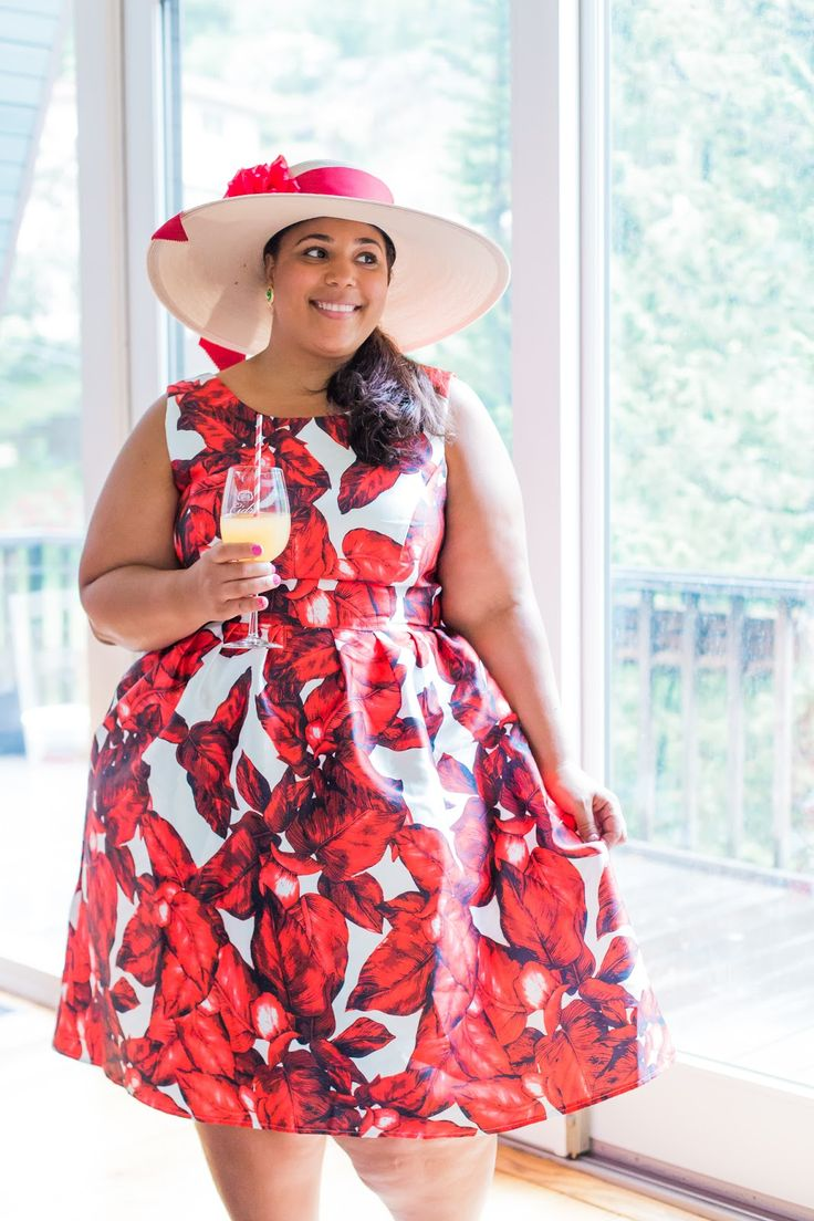 Garnerstyle The Curvy Girl Guide Derby Day Plus Size