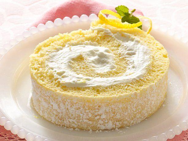 Lemon cream rolled cake get your easter on pinterest for Dessert cake ideas